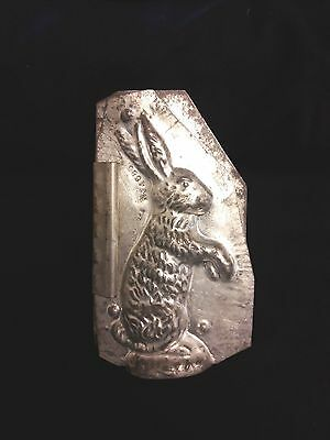 ANTIQUE EASTER BUNNY Eppelsheimer U.S.A. VINTAGE RABBIT CHOCOLATE CANDY MOLD