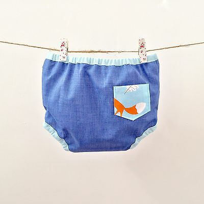 Handmade Nappy Cover Pants Size Small