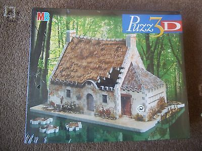 MB Puzz 3D BRETON HOUSE 264 Piece JIGSAW PUZZLE   Age 12+   NEW