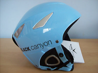 Helmet Black Canyon Childs Ski Snowboarder Helmet Blue XS New Boxed with Tags