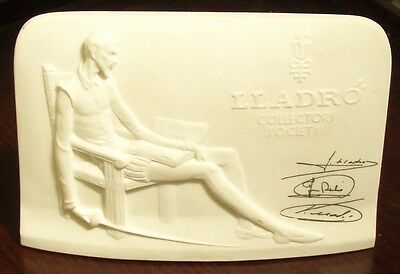 Lladro Collectors Society Sign / Plaque 1985