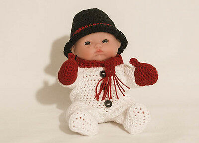 """Snowman  OUTFIT ONLY for Itty Bitty Baby - 5"""" Lots to Love Babies"""