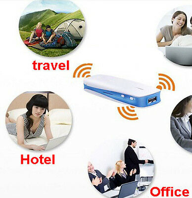 5in1 Mini 150Mbps 3G WIFI Mobile Wireless USB Router Hotspot & 1800mAh Charger