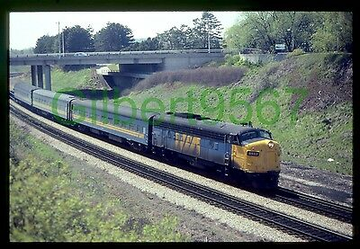 VIA Rail (Canada) original rail slide # 6533 taken 1983