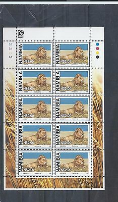 Namibia stamps. 1998 Large Wild Cats set $2 in sheets of 10 MNH (Z125)