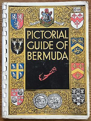 VINTAGE PICTORIAL GUIDE OF BERMUDA from 1950s 34 PAGES TRAVEL HOLIDAY