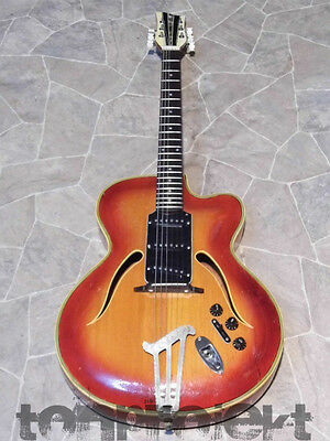 unique all solid STRATOFIED GERMAN CARVE quality archtop GUITAR Germany OOAK