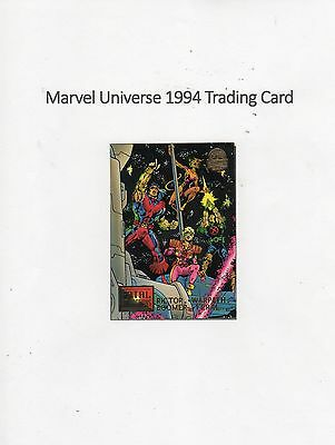1994 Marvel Universe Trading Card #13 Fatal Attractions - Rictor / Warpath