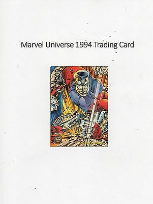 1994 Marvel Universe Trading Card #96 X-Men - Colossus