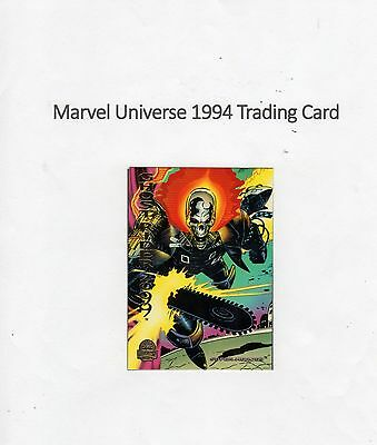 1994 Marvel Universe Trading Card #175 2099 - Ghost Rider 2099