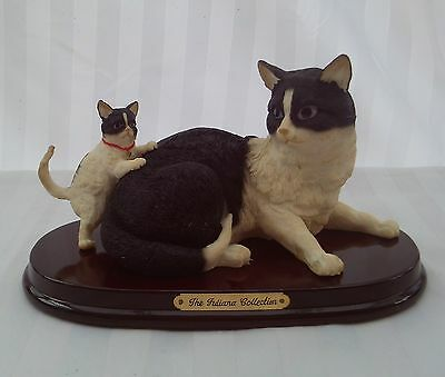 A cat and Kitten from the Juliana Collection