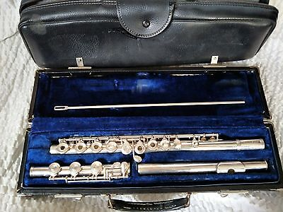 Gemeinhardt flute M 3 S with B foot Solid silver