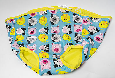 Evenflo Exersaucer Mega Barnyard Farm Fabric Seat Cover Pad Replacement 7093