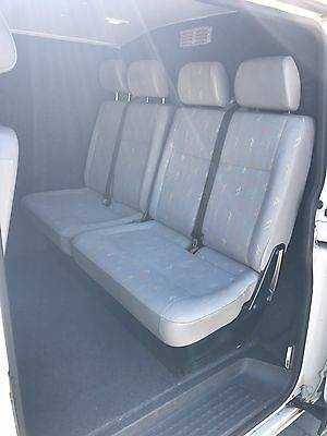 VW Transporter Double Passenger Seat And Base