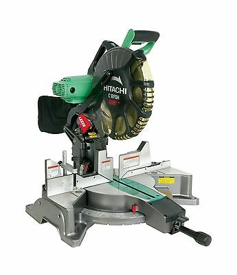 Hitachi C12FDH 15 Amp 12 -Inch Dual Bevel Miter Saw with Laser