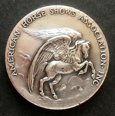 1989 Pegaus, American Horse Shows Associations, Medallic Art Co. SP Bronze Medal