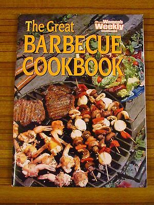 Women's Weekly Recipe Book - The Great Barbeque Cookbook Weber Outdoor Alfresco