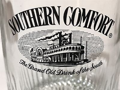 Southern Comfort Steamboat Glass Tumbler Rocks Old Fashioned Drink of the South
