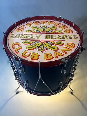 The Beatles Sgt Pepper Light Up Drum Table