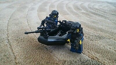Lego Custom Special Ops Raft -Navy seals gun army police weapons minifig swat