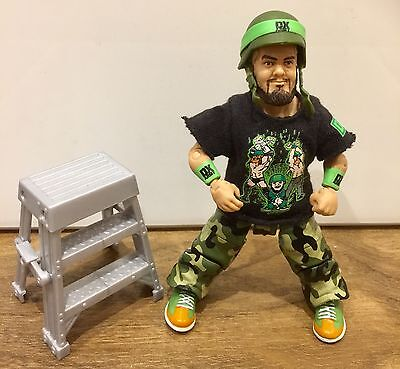 WWE Mattel figure ELITE DX HORNSWOGGLE WITH LADDER accessory good condition raw