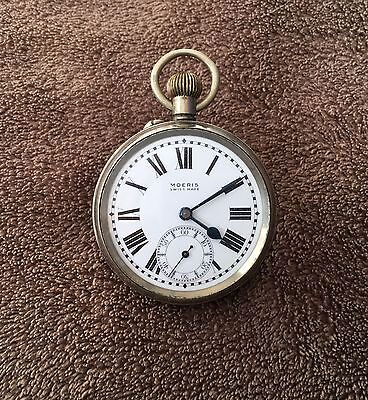 Antique Moeris Railway Pocket Watch