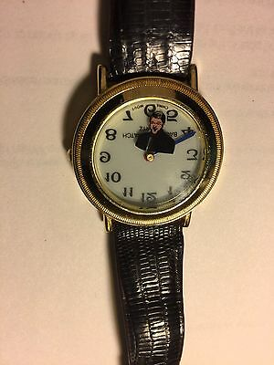 OMEGA BILL CLINTON in Business Suit Backwards Watch  Head is Second Hand RARE