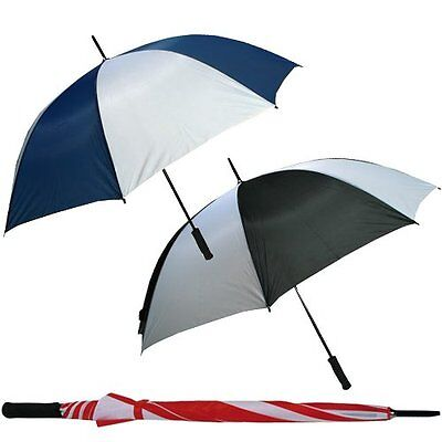 130Cm Golf Umbrella Canopy Wind Proof Fishing Sports Strong Compact Lightweight