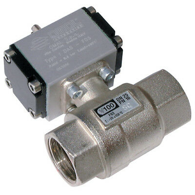 """D100H009, 2""""     BSP DOUBLE ACTING BALL VALVE, Omal & Valpes Actuated Valves"""