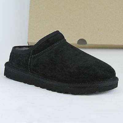 Ugg Women's Classic Slippers Black Size 11 New