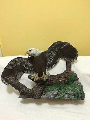 Ceramic Eagle Figurine
