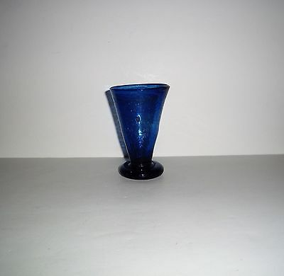 Antique 19Th C. Scottish Clutha Glass Cup By Christopher Dresser 4 1/2 Inches
