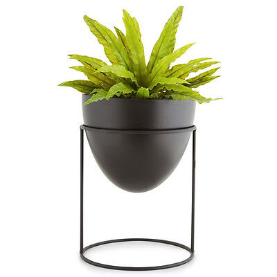 Metal Plant Stand with Pot Garden Home Decor Flower Display Rack Planter Holder
