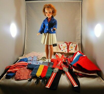 Vintage Ideal Tammy Doll  with Clothes and Case