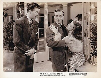 KATHARINE HEPBURN JAMES JIMMY STEWART Vintage THE PHILADELPHIA STORY MGM Photo
