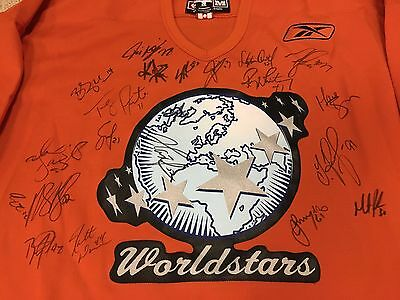 WORLD STARS 1994 Team Signed Game Authentic Practice PRO NEW Hockey Jersey