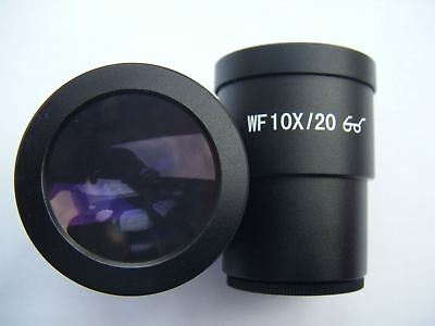 2X Wf 10X/20 Super Widefield For Stereo Microscope Eyepiece (30Mm) Y