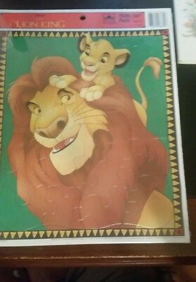 The Lion King Golden Frame Tray Jigsaw Puzzle