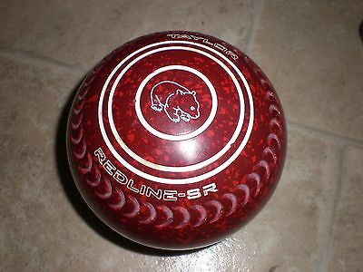 Taylor SR lawn bowls size 4 virtually unmarked condition