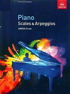 ABRSM Piano Scales and Arpeggios: Grades 1, 2, 3, 4, 5, 6, 7 & 8 Available