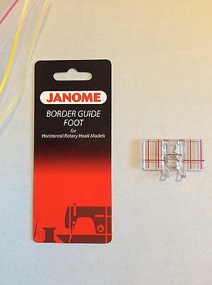 Janome Border Guide Foot for Decorative Sewing - 7 mm
