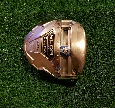 Taylormade SLDR 430 driver head only / 9° / very good condition