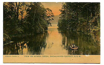 Nowra View on Creek Shoalhaven District c.1906
