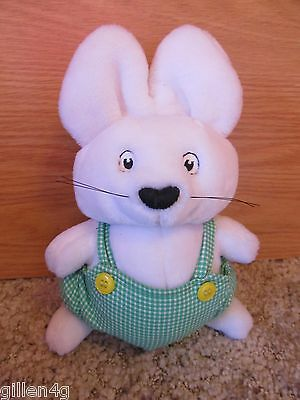 """Max & Ruby 9"""" Soft Plush Max Doll Toy Adorable Eden 1997 *mint"""