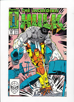 Incredible Hulk #361 -9.8 - White Pages