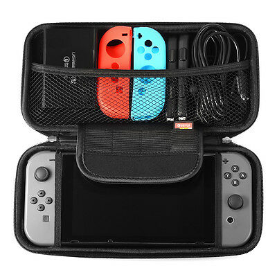 JoyCon Protective Case Cover+Carry Storage Bag for Nintendo Switch Console AC796