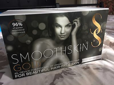 Brand New Sealed In Box Smooth Skin Gold IPL laser Hair Removal
