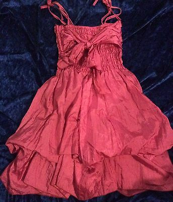 Bright Pink Party Dress BRAND NEW Size 5/6