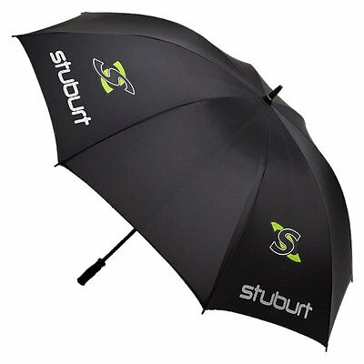 "2015 Stuburt 66"" Single Canopy Mens Golf Umbrella Black"