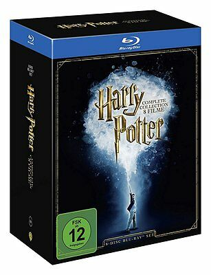 Harry Potter - The Complete Collection Box Blu-ray OVP